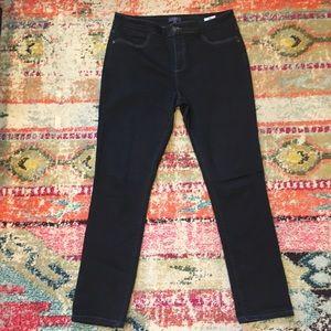 NYDJ Indigo Blue Slim Straight Leg Jeans